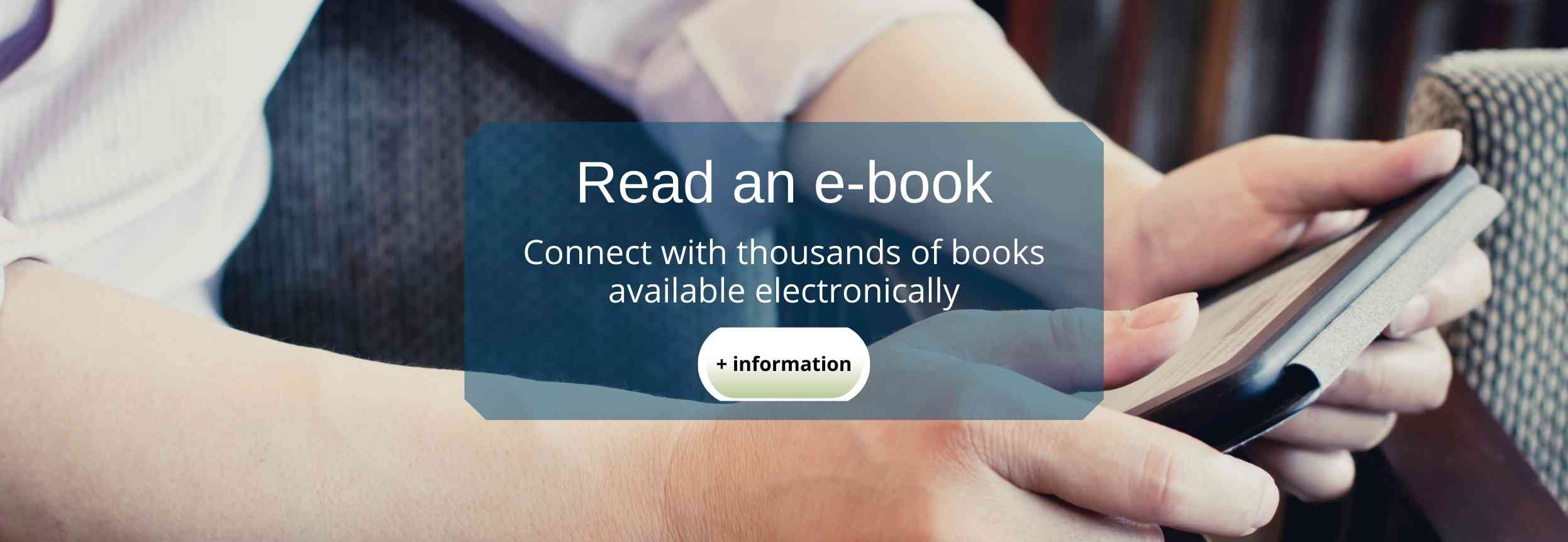 Find an e-book to read
